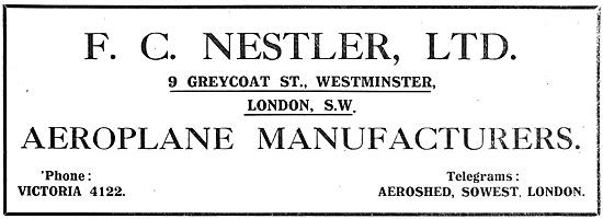 F.C.Nestler - Aeroplane Manufacturers
