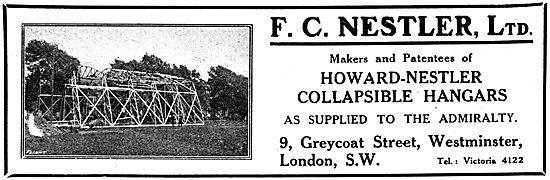 F.C.Nestler - Howard-Nestler Collapsible Hangars