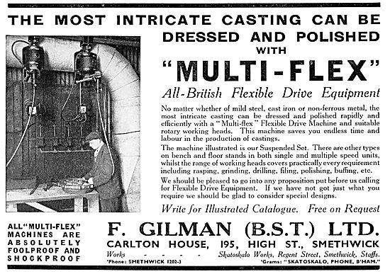 F.Gilman Multi-Flex Flexible Drive Equipment