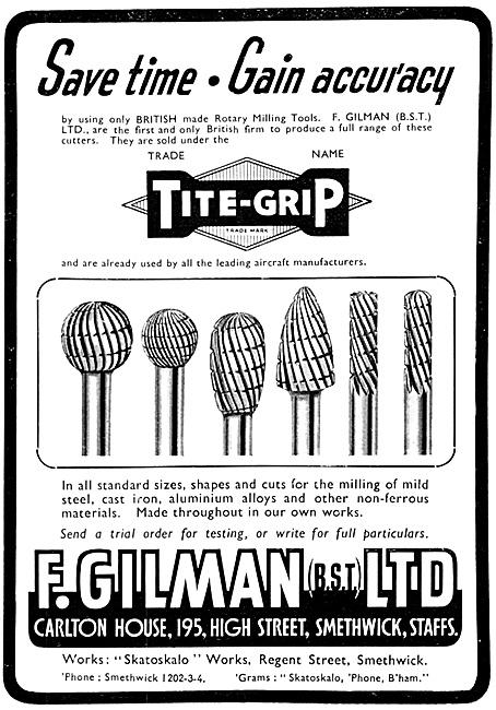 F.Gilman Machine Tools - Tite Grip