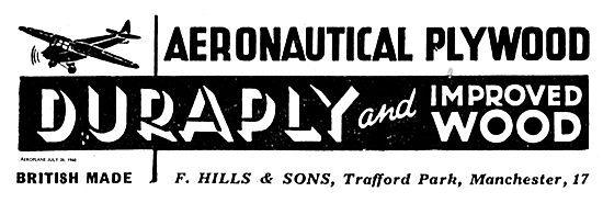 F Hills & Sons Duraply And Improved Wood