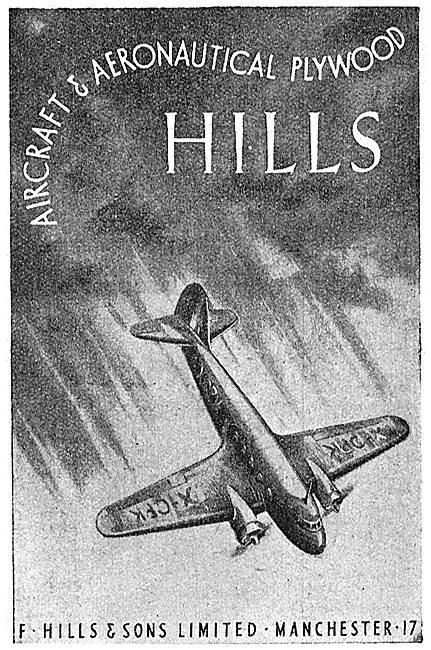 F.Hills Duraply Aeronautical Plywood