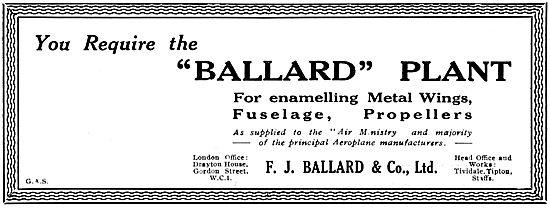 Ballard Plant For Enamelling