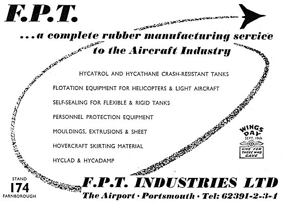 FPT Industries - Manufacturers Of Rubber Components