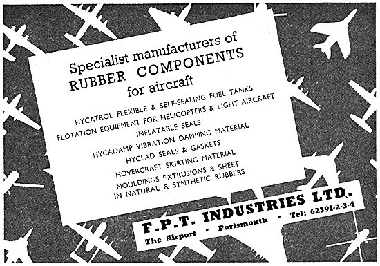 FPT Industries - Rubber Components For Aircraft 1965