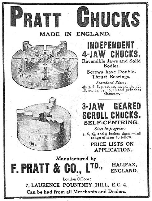 Pratt Chucks - Independent 4-Jaw Chuck
