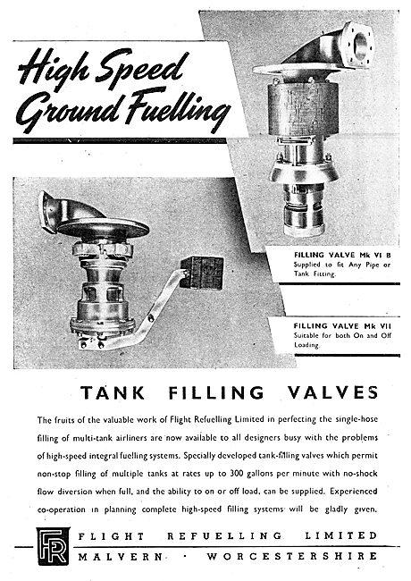Flight Refuelling High Speed Ground Fuelling Equipment