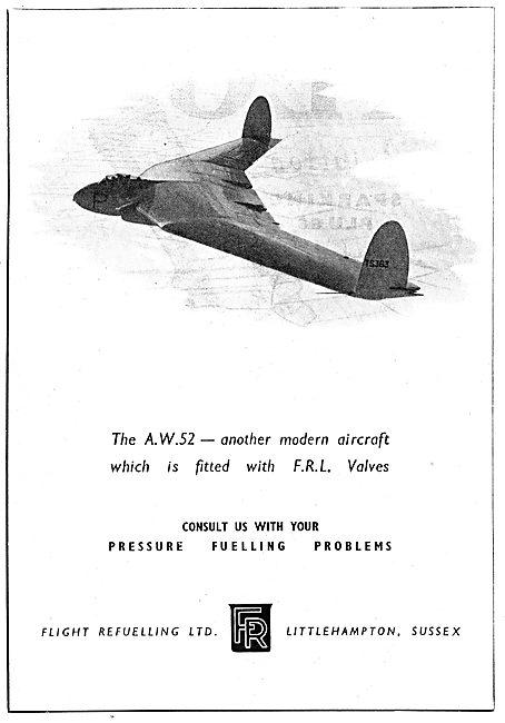 Flight Refuelling - AW52