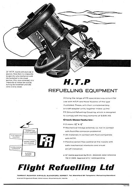 Flight Refuelling - Aircraft Refuelling Equipment - HTP