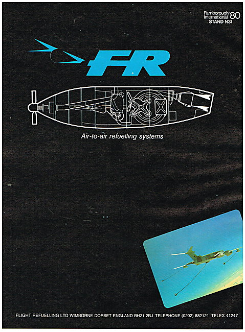 Flight Refuelling Air-to-Air Refuelling Systems 1980