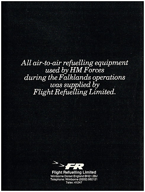 Flight Refuelling Air-To-Air Refuelling Equipment