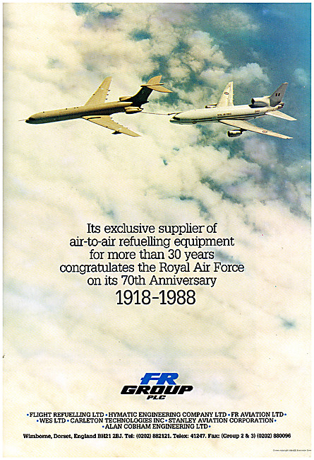 Flight Refuelling Probe & Drogue Air-To-Air Refuelling Systems