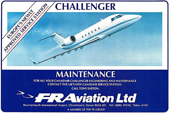 FR Aviation Canadair Challenger Maintenance