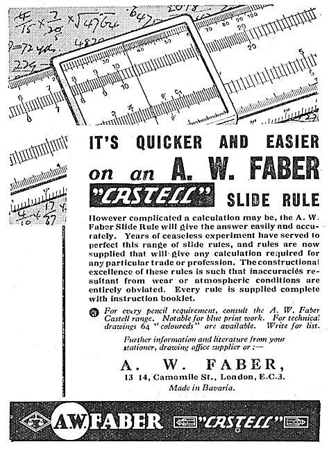 Faber Castell Slide Rule