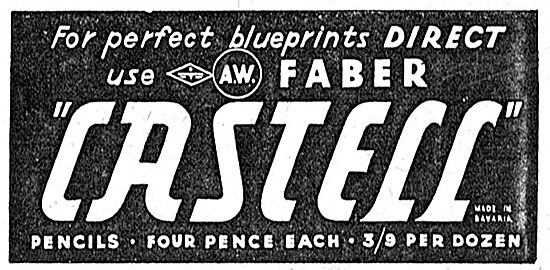 Faber Castell Drawing Instruments 1939