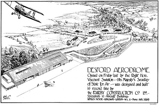 Fairby Construction Co Ltd: Desford Aerodrome
