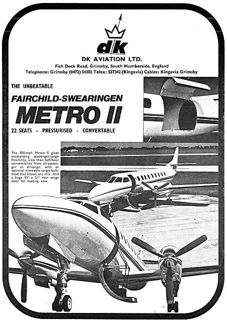 Fairchild-Swearingen Metro II