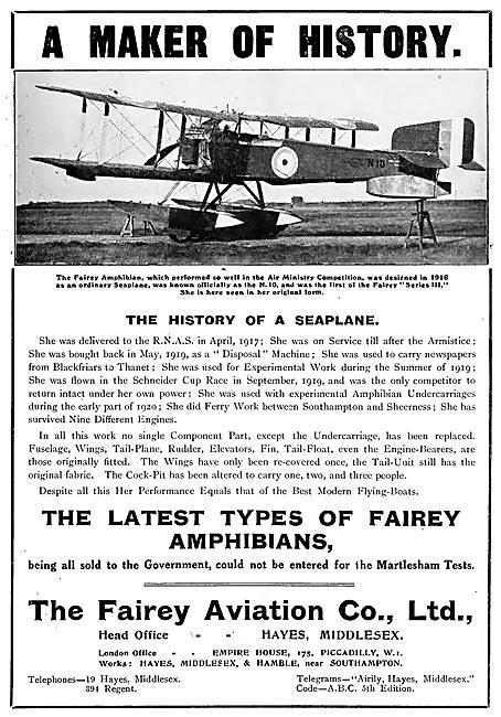 Fairey Amphibian