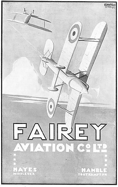 Fairey Aviation Co. Hayes & Hamble