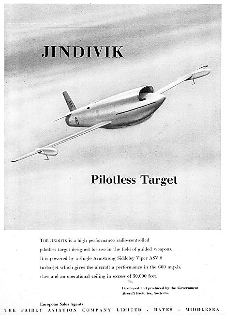 Fairey GAF Jindivik (Government Aircraft Factories Australia)