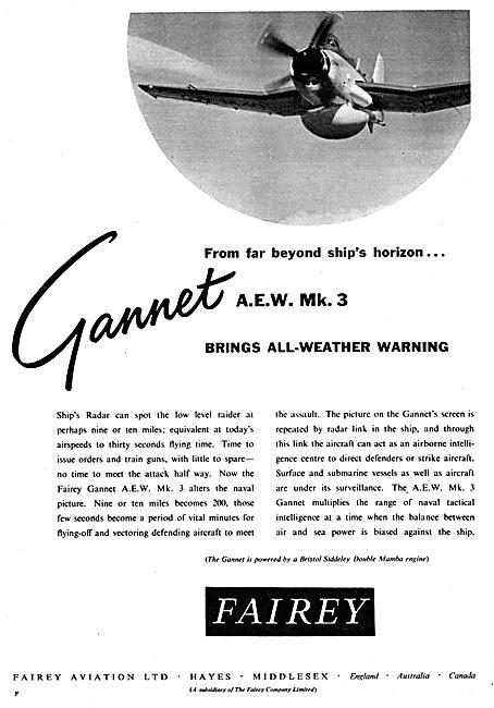 Fairey Gannet  AEW 3