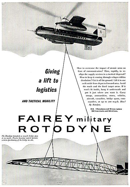 Fairey Military Rotodyne