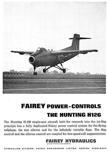 Fairey Hydraulics - Power Controls Hunting H126 Research