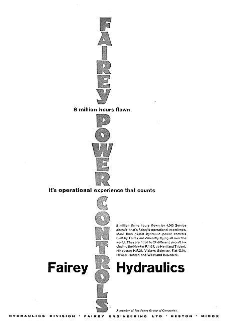 Fairey Hydraulics - Power Controls
