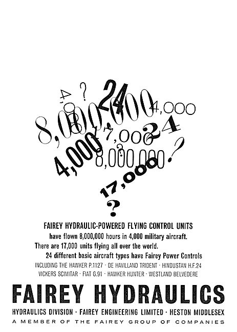 Fairey Hydraulics - Power Flying Control Units