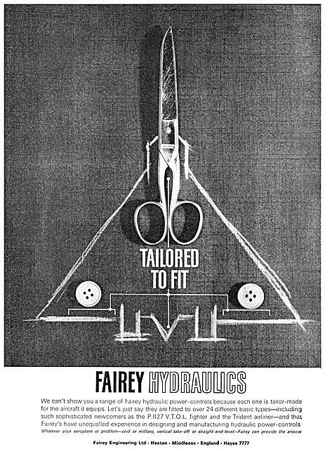 Fairey Hydraulics & Power Flying Controls