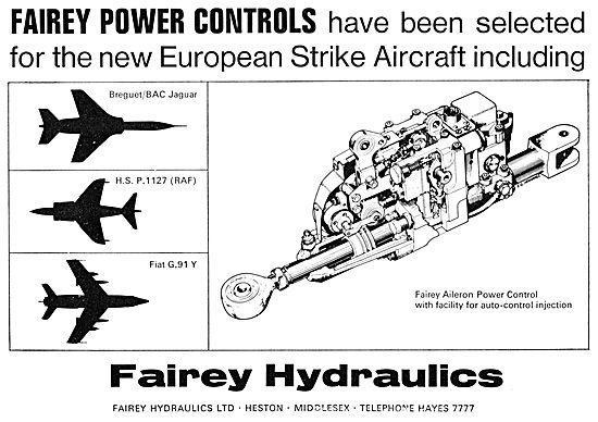 Fairey Power Flying Controls