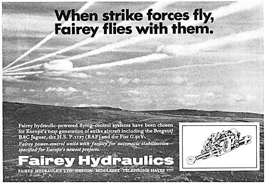 Fairey Hydraulics - Power Flying Controls