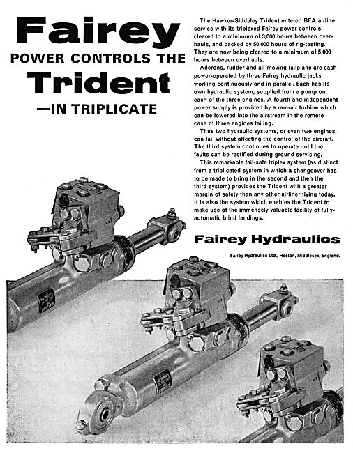 Fairey Hydraulics - Fairey Power Controls