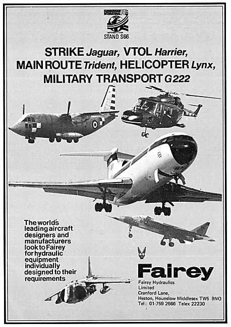 Fairey Hydraulics