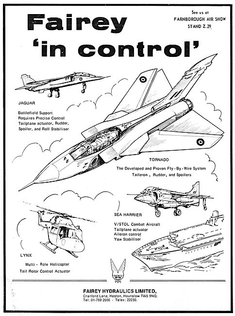 Fairey Hydraulics & Controls
