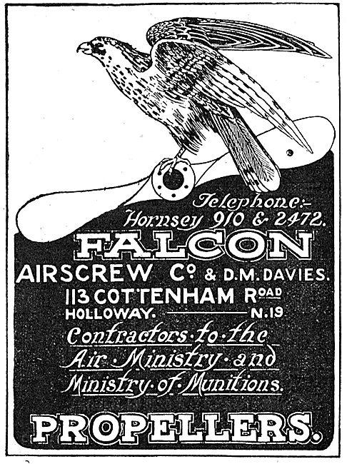 Falcon Airscrew Co & D.M. Davies