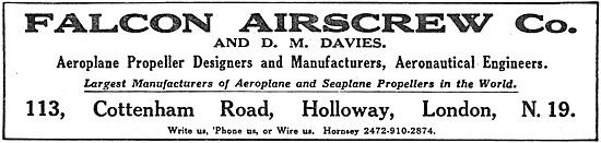 The Falcon Airscrew Co.