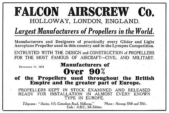 Falcon Airscrews