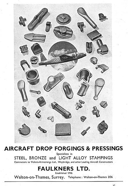 Faulkners Ltd. Drop Forgings & Pressings 1939