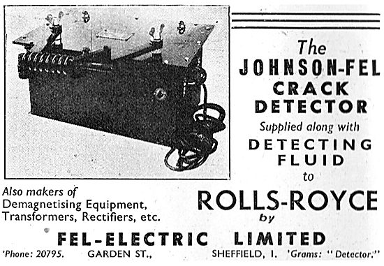 Fel-Electric - Johnson-Fel Crack Detector