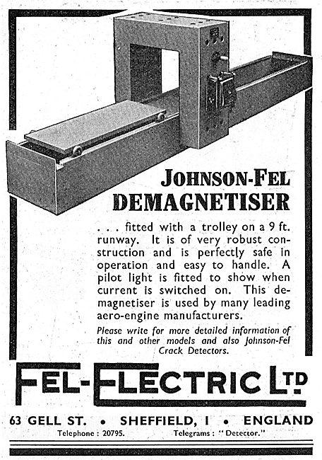 Fel-Electric : Johnson-Fel Demagnetiser