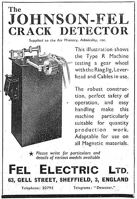 Fel-Electric : Johnson-Fel Crack Detector
