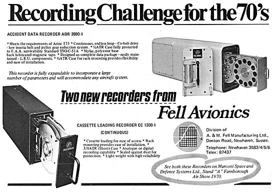Fell Avionics Flight Data Recorder FDR