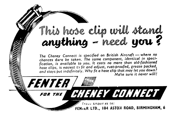 Fenter Cheney Connect Hose Clips