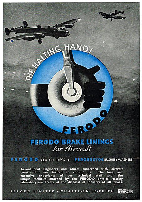 Ferodo Brake Linings For Aircraft - Ferebestos