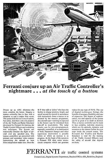 Ferranti ATC Radar Training Simulation