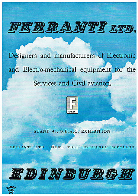 Ferranti Electro Mechanical Equipment