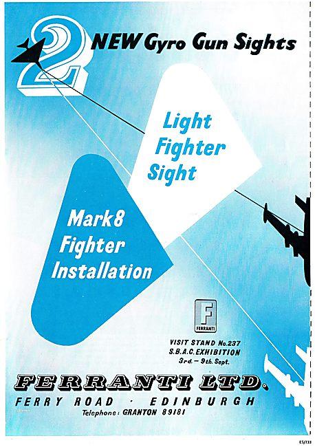 Ferranti Gyro Aircraft Gun Sights