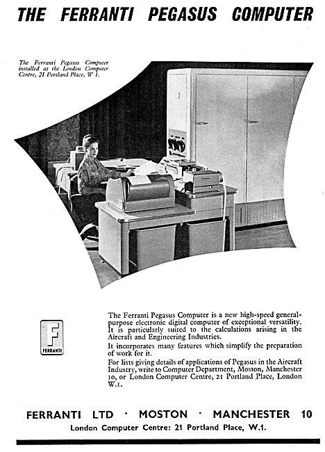 Ferranti Pegasus Digital Computers