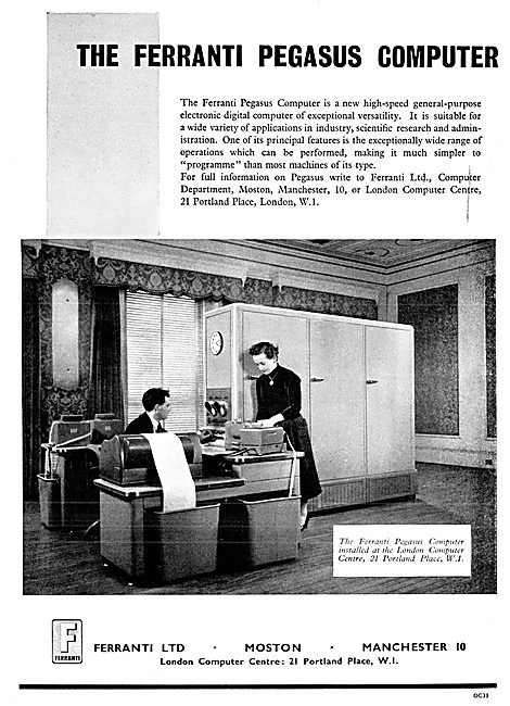 Ferranti Pegasus Electronic Computer